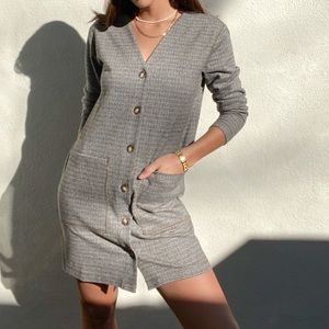Lou & Grey Houndstooth Dress